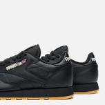 Кроссовки Reebok Classic Leather Tiger Camo Black/Oatmeal/Warm Olive фото- 5