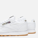 Кроссовки Reebok Classic Leather Tiger Camo White/Black/Warm Olive фото- 5