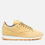 Кроссовки Reebok Classic Leather WP Wheat/Dark Brown фото- 0
