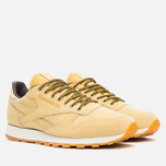 Кроссовки Reebok Classic Leather WP Wheat/Dark Brown фото- 1
