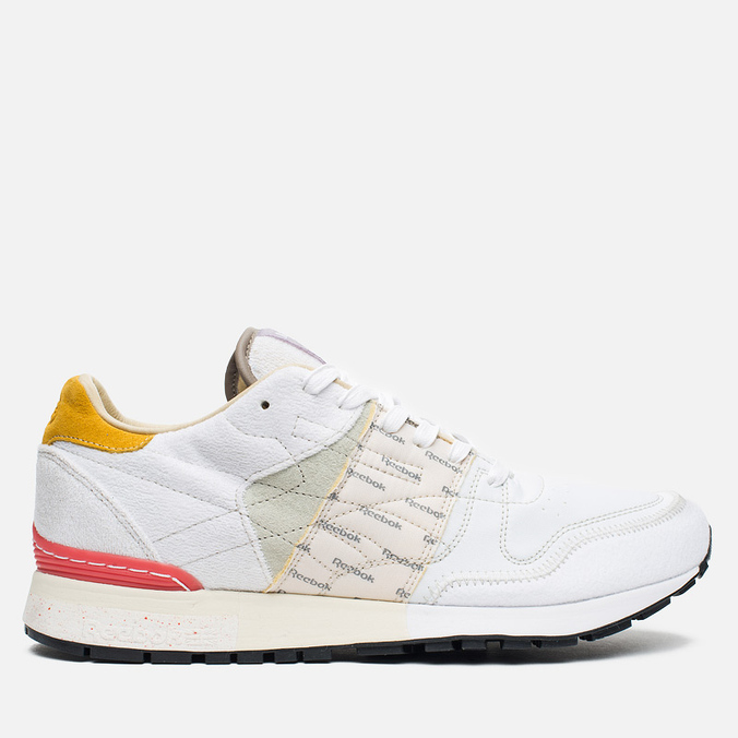 Мужские кроссовки Reebok x Garbstore Classic Leather 6000 White/Jadite/Coral