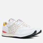 Мужские кроссовки Reebok x Garbstore Classic Leather 6000 White/Jadite/Coral фото- 1