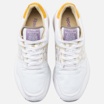 Мужские кроссовки Reebok x Garbstore Classic Leather 6000 White/Jadite/Coral фото- 4