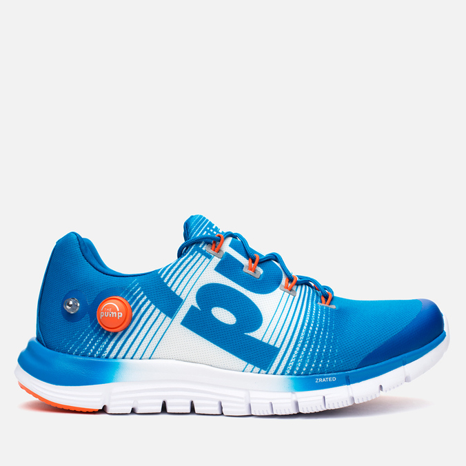 Мужские кроссовки Reebok ZPump Fusion Blue/White/Swag Orange