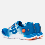 Мужские кроссовки Reebok ZPump Fusion Blue/White/Swag Orange фото- 2