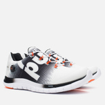 Мужские кроссовки Reebok ZPump Fusion White/Black/Swag Orange фото- 1