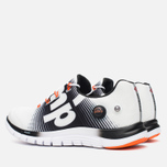 Мужские кроссовки Reebok ZPump Fusion White/Black/Swag Orange фото- 2