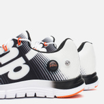 Мужские кроссовки Reebok ZPump Fusion White/Black/Swag Orange фото- 5