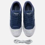 Мужские кроссовки Saucony Jazz O Premium Luxury Pack Navy/Gray фото- 4