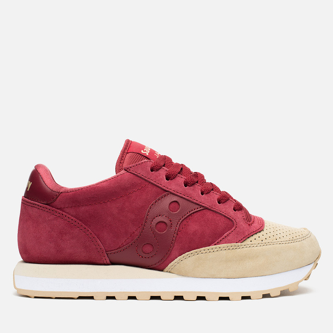 Saucony Jazz O Premium Luxury Pack Men's Sneakers Red/Sand