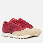 Saucony Jazz O Premium Luxury Pack Men's Sneakers Red/Sand photo- 1