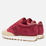 Saucony Jazz O Premium Luxury Pack Men's Sneakers Red/Sand photo- 2