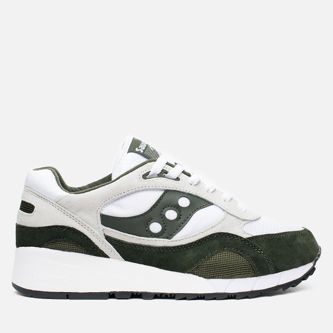 Мужские кроссовки Saucony Shadow 6000 Running Man Pack White/Green