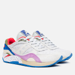 Мужские кроссовки Saucony x Bodega G9 Shadow 6 Pattern Recognition Grey/Purple фото- 1