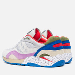 Мужские кроссовки Saucony x Bodega G9 Shadow 6 Pattern Recognition Grey/Purple фото- 2