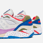 Мужские кроссовки Saucony x Bodega G9 Shadow 6 Pattern Recognition Grey/Purple фото- 5