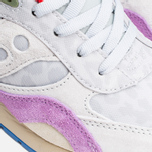 Мужские кроссовки Saucony x Bodega G9 Shadow 6 Pattern Recognition Grey/Purple фото- 7