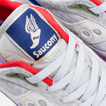 Мужские кроссовки Saucony x Bodega G9 Shadow 6 Pattern Recognition Grey/Purple фото- 6