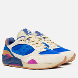 Мужские кроссовки Saucony x Bodega G9 Shadow 6 Pattern Recognition Light Tan/Blue фото- 1
