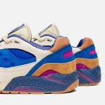 Мужские кроссовки Saucony x Bodega G9 Shadow 6 Pattern Recognition Light Tan/Blue фото- 5
