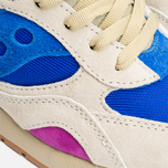 Мужские кроссовки Saucony x Bodega G9 Shadow 6 Pattern Recognition Light Tan/Blue фото- 7