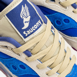 Мужские кроссовки Saucony x Bodega G9 Shadow 6 Pattern Recognition Light Tan/Blue фото- 6