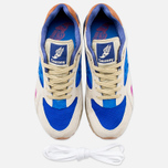 Мужские кроссовки Saucony x Bodega G9 Shadow 6 Pattern Recognition Light Tan/Blue фото- 4