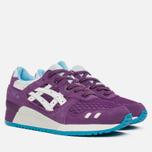 Женские кроссовки ASICS Gel-Lyte III Purple/White фото- 1