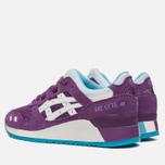Женские кроссовки ASICS Gel-Lyte III Purple/White фото- 2