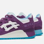 Женские кроссовки ASICS Gel-Lyte III Purple/White фото- 5