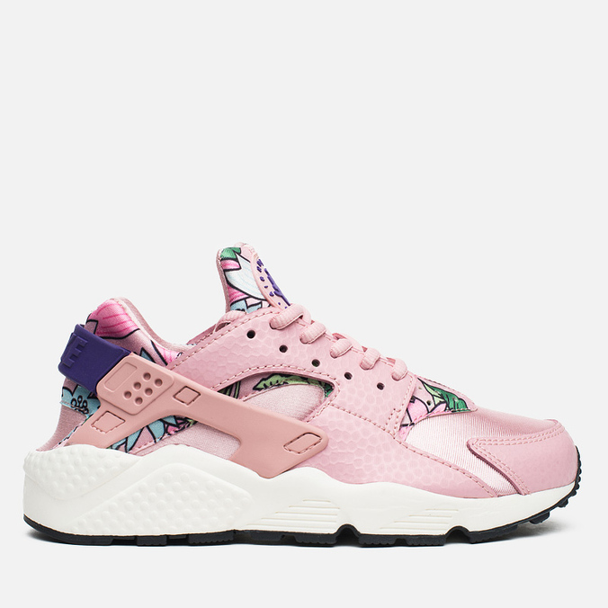 Женские кроссовки Nike Air Huarache Run Print Pink Glaze/Varsity Purple
