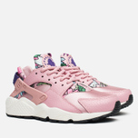 Женские кроссовки Nike Air Huarache Run Print Pink Glaze/Varsity Purple фото- 1