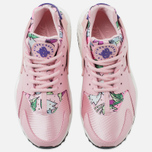 Женские кроссовки Nike Air Huarache Run Print Pink Glaze/Varsity Purple фото- 4