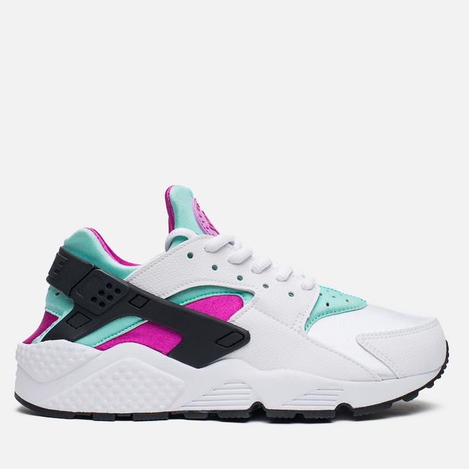 Женские кроссовки Nike Air Huarache Run White/Artisan Teal