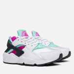 Женские кроссовки Nike Air Huarache Run White/Artisan Teal фото- 1