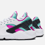 Женские кроссовки Nike Air Huarache Run White/Artisan Teal фото- 5