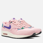 Женские кроссовки Nike Air Max 1 Print Pink Glaze/Purple фото- 1