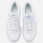 Женские кроссовки Nike Air Max 1 PRM White/Metallic Silver фото- 4