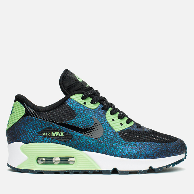 Женские кроссовки Nike Air Max 90 Hyp WC QS Black/Teal/Vapor Green