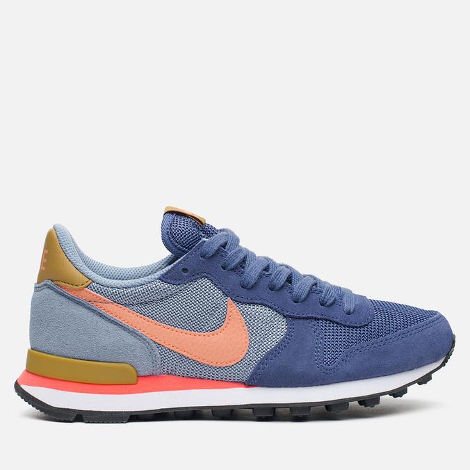 Женские кроссовки Nike Internationalist Blue Legend/Sunset Glow