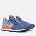 Женские кроссовки Nike Internationalist Blue Legend/Sunset Glow фото- 1
