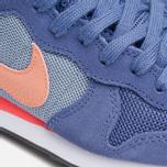 Nike Internationalist Women's Sneakers Blue Legend/Sunset Glow photo- 7
