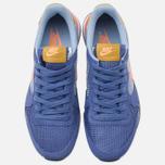 Nike Internationalist Women's Sneakers Blue Legend/Sunset Glow photo- 4