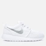 Женские кроссовки Nike Roshe One BR White/Metallic Platinum фото- 0