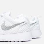 Женские кроссовки Nike Roshe One BR White/Metallic Platinum фото- 7