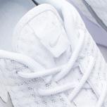 Женские кроссовки Nike Roshe One BR White/Metallic Platinum фото- 6