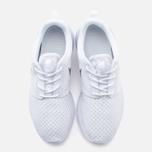 Женские кроссовки Nike Roshe One BR White/Metallic Platinum фото- 4