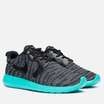 Женские кроссовки Nike Roshe One Knit Jacquard Wolf Grey/Black/Light Retro фото- 1