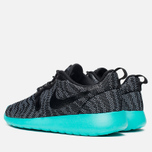 Женские кроссовки Nike Roshe One Knit Jacquard Wolf Grey/Black/Light Retro фото- 2