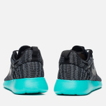 Женские кроссовки Nike Roshe One Knit Jacquard Wolf Grey/Black/Light Retro фото- 3